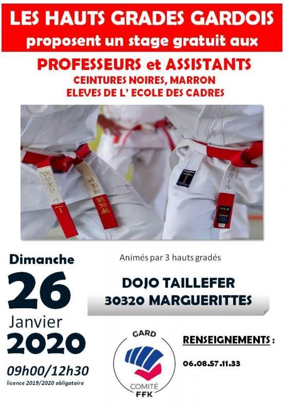 Stage janvier 2020