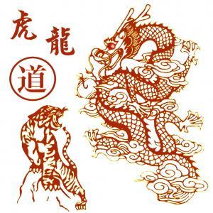 Tigre dragon rouges site
